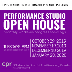 CPR Performance Studio Open House Details