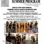 Summer Youth Dance Intensive Program
