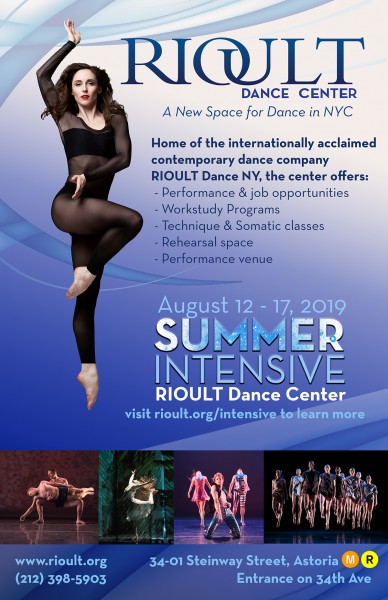 Summer Intensive 2019 at RIOULT Dance Center!