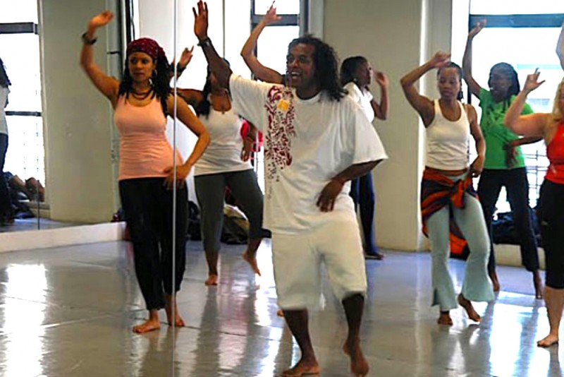 Afro-Brazilian Class Taught by Velly Bahia