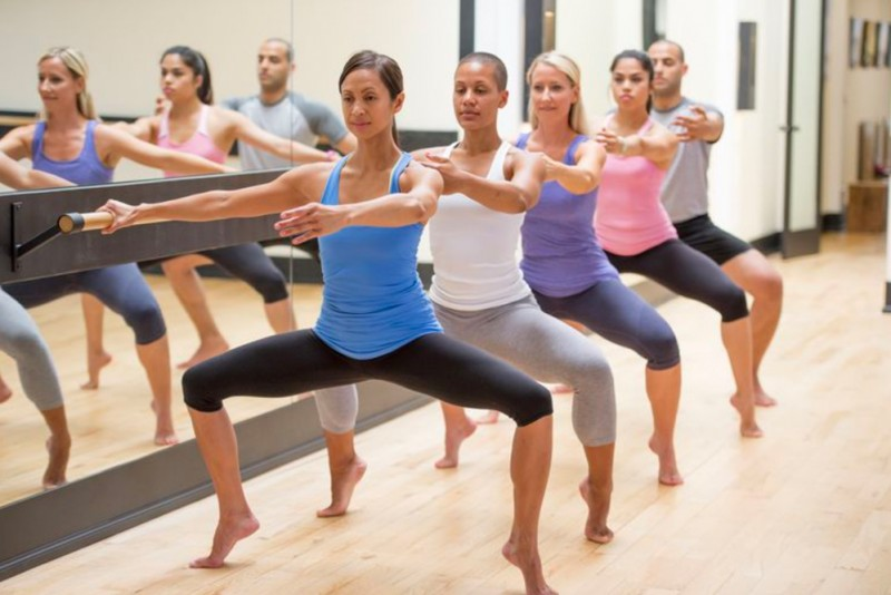 Ballet Barre Class Taught by Joyce Herring