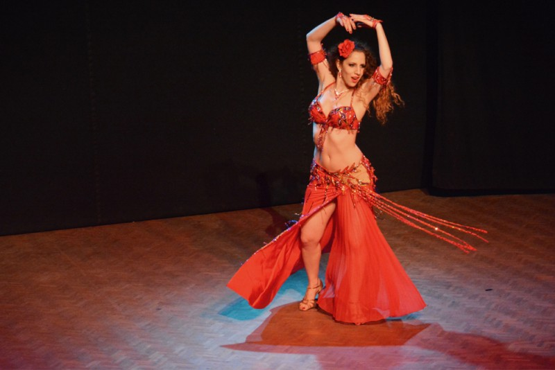 Egyptian Belly Dance taught by Salit Cohen Cheng