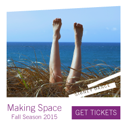 Gibney Dance Presents Making Space Fall 2015