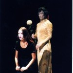 Ximena Garnica and Yukio Waguri Performing in the 2003 NY Butoh Festival