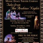 Flyer for Tales from The Arabian Nights