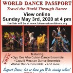 Online Event: World Dance Passport: Travel the World Through Dance