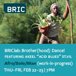 Brother(hood) Dance! Afro/Solo/Man February 22-23 at BRIC