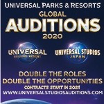 Universal Parks and Resorts Auditions