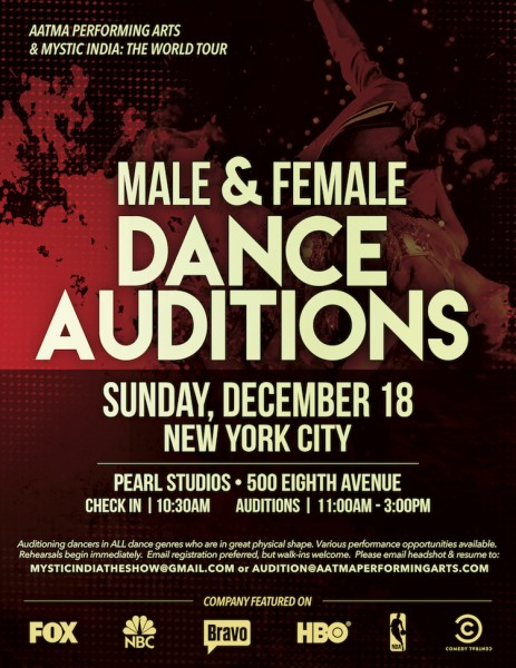 Touring Company Seeking Dancers