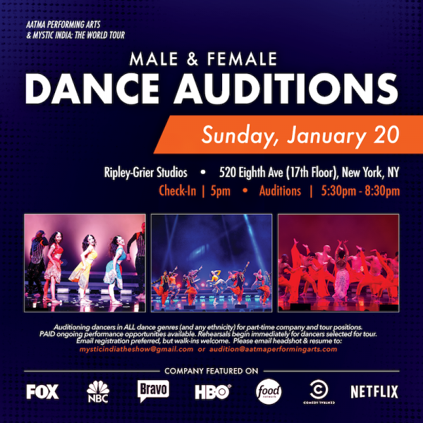 Company & Tour Auditions (MALE & FEMALE DANCERS) | Dance/NYC