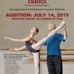 Ellison Ballet - Professional Training Program - Audition July 14th
