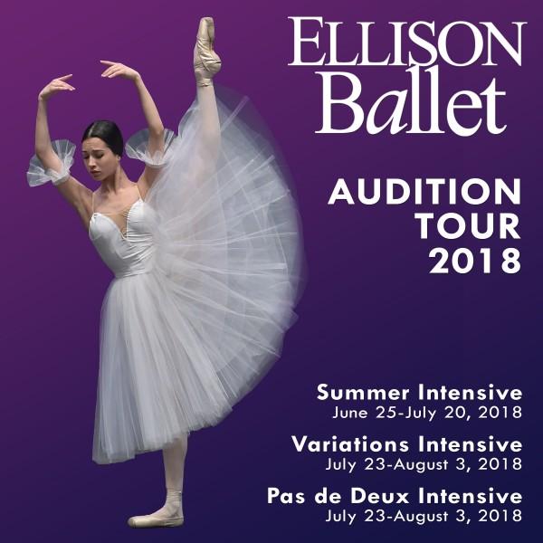 ELLISON BALLET - 2018 AUDITION TOUR | Dance/NYC