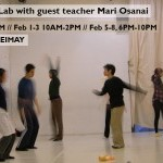 LEIMAY Ludus Lab with butoh dancer Mari Osanai