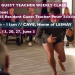 LEIMAY LUDUS: Guest Teacher Weekly Class with Peter Sciscioli