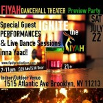 FIYAH Dancehall Theater Preview Party: Live Performances & Dance Sessions