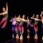 Senior Dancer Carolina Rivera with Company performing in MURMURATION. Costumes designed by Christine Darch.