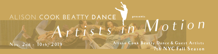 Artists in Motion 2019 - Alison Cook Beatty Dance & Guest Artists