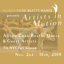 Artists in Motion - Alison Cook Beatty Dance & Guest Artists