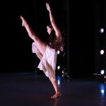 Dancer Carolina Rivera performing LIFELINE choreographed by Alison Cook-Beatty at Peridance Theater in 2018.