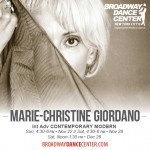 MARIE-CHRISTINE GIORDANO DANCE AUDITIONS FOR A PROJECT TO BE PREMIERED IN SWITZERLAND