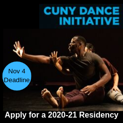CUNY dance initiative: apply for a 2020-21 residency