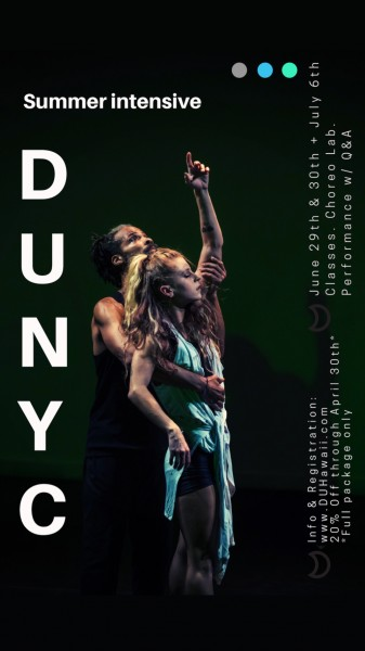 DUNYC Summer Intensive & Choreography Lab