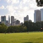 A photo of Sheep Meadow park area in Central Park