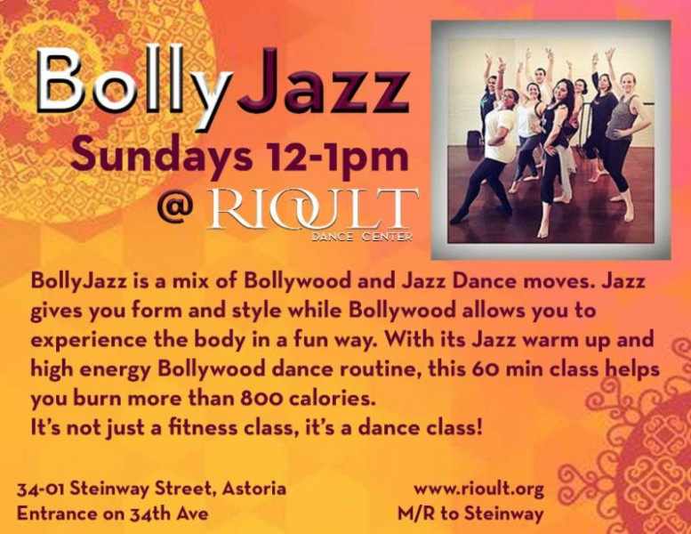 BollyJazz at RIOULT Dance Center