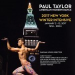 2017 Paul Taylor Winter Intensive Poster