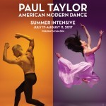 2017 NYC Taylor Summer Intensive Poster with dancers Michael Trusnovec and Eran Bugge
