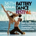 FJK dance on stage at the 2016 Battery Dance Festival