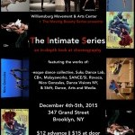 The Intimate Series- A Collaboration of The Moving Beauty Series and The Williamsburg Movement & Arts Center