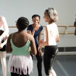 Students enjoy their dance class.