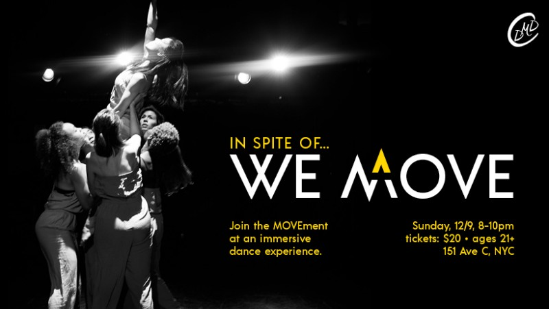 You are invited to join the MOVEment at an immersive dance experience.