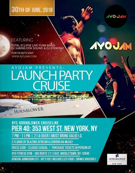AyoJam Launch Cruise Party | Dance/NYC