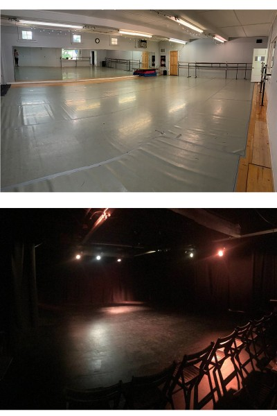Studio A and Blackbox theater