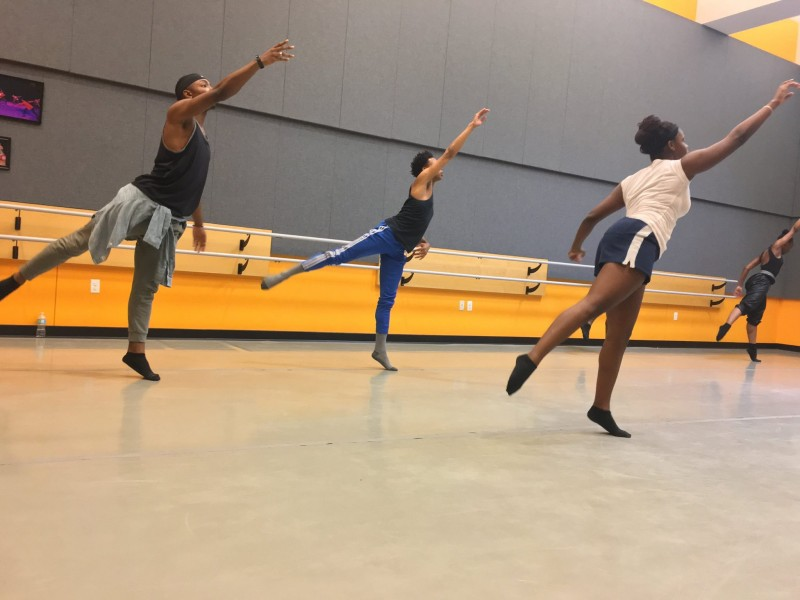 Ensemble members from 7th annual Emerging Choreographers Showcase