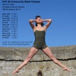 $5 Ballet classes February through March