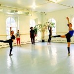 Dancers Enjoying Ballet Class