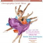 Ballet des Amériques and the Music Hall invite you to a special performance