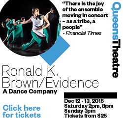 Ronald K. Brown Evidence Queens Theatre