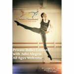 Private Ballet Lesson with Julio Alegria