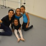 Ballet Class for kids with Julio Alegria