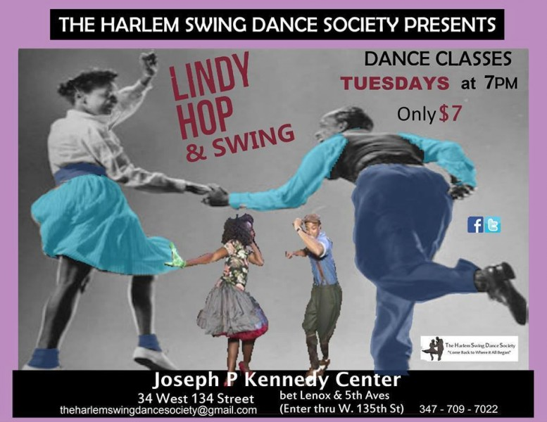 Harlem Swing Dance Classes - Swing on Tuesdays! | Dance/NYC