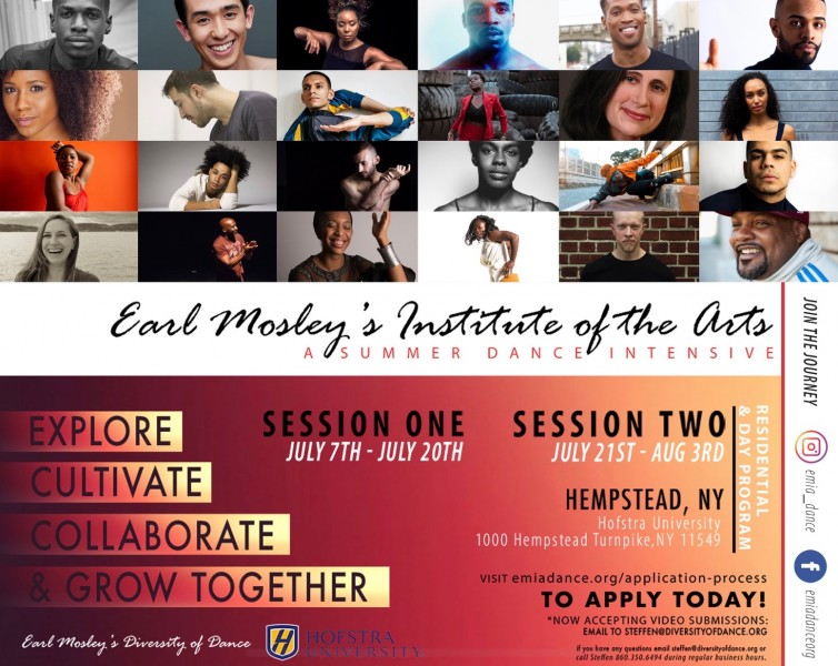 Earl Mosley's Institute of The Arts A Summer Dance Intensive 2019