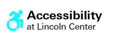 Accessibility at Lincoln Center  logo