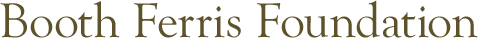 Booth Ferris Foundation logo